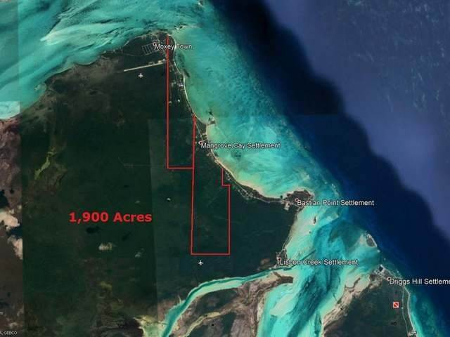 Land for Sale at Mangrove Cay, Andros Bahamas
